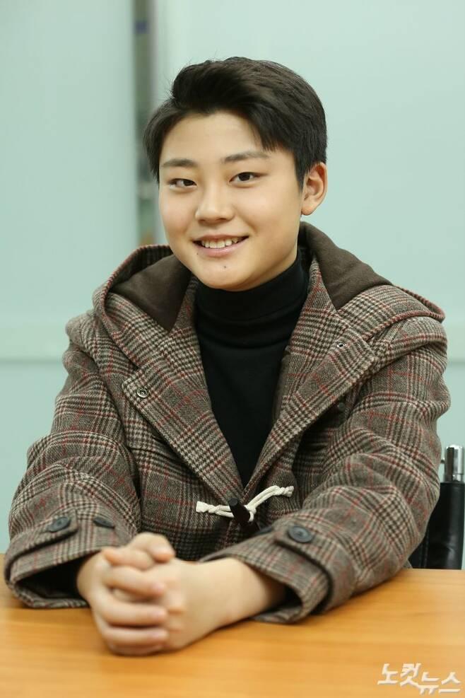 지난 28일 오후, 서울 양천구 CBS 사옥에서 JTBC 금토드라마 'SKY 캐슬'에서 우수한 역을 맡은 배우 이유진을 만났다. (사진=김기현 기자)
