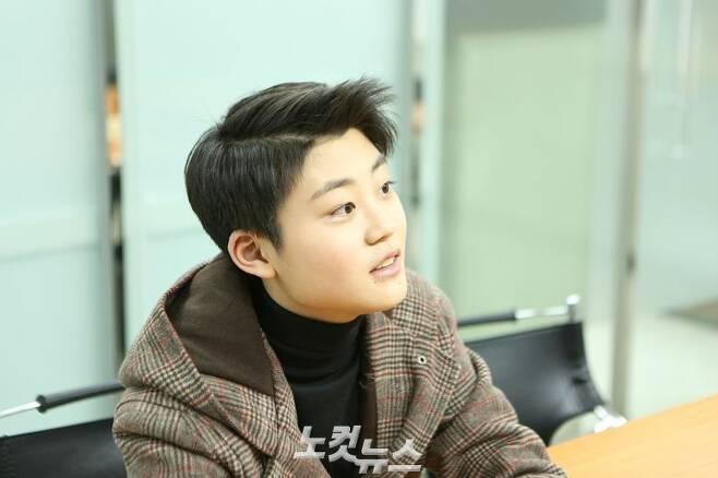 배우 이유진이 CBS노컷뉴스와 인터뷰하고 있는 모습 (사진=김기현 기자)