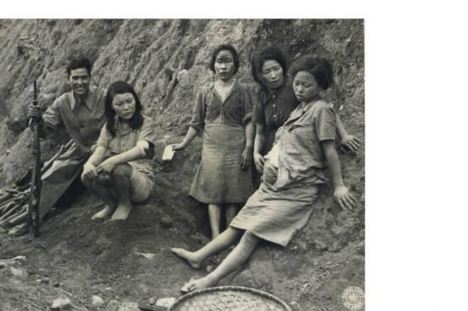 위안� 피해자인 고(故) 박영심 씨의 만삭 모습 사진(1944년 9월 3일 촬영)[서울시·서울� 정진성 연구�]