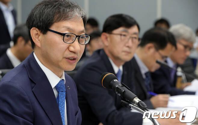 김성주 국민연금공단 이사장. 2018.10.23/뉴스1