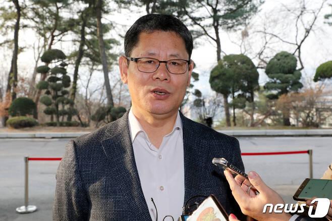 김연철 통일부 장관 후보자. 뉴스1 © News1 안은나 기자