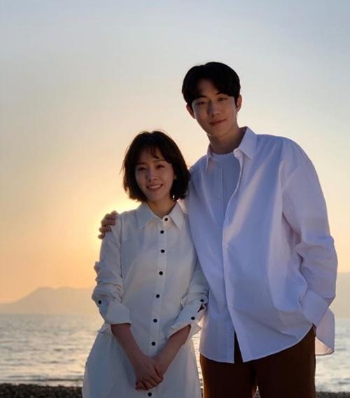 한지민, 남주혁과 커플 사진=한지민 SNS