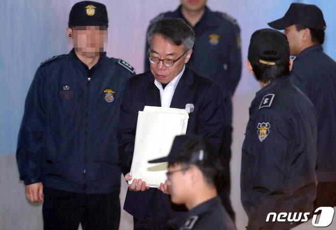 임종헌 전 법원행정처 차장. 2019.3.28/뉴스1 © News1 박정호 기자