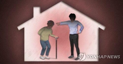 가정폭력, 노인 폭행·학대(PG) [제작 이태호] 일러스트