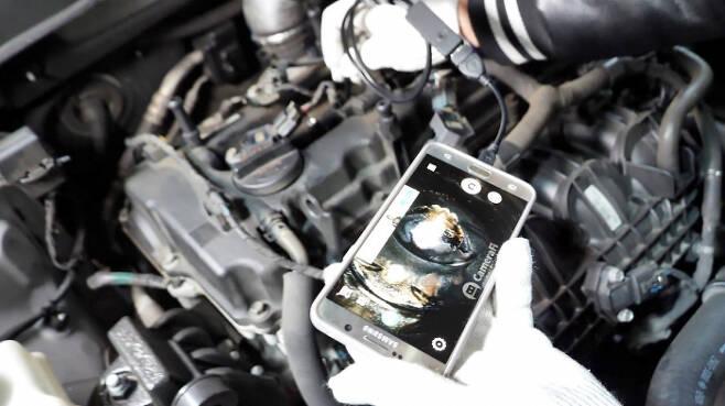 올 초 오토캐스트가 진행한 엔진세정제 효과 실험