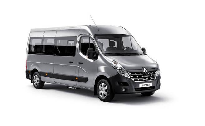 마스터 버스 15인승 모델 외관.