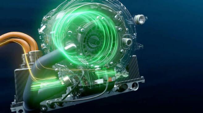 BMW i 안드레티(Andretti) 모터스포츠팀의 포뮬러E 전기 레이스카 BMW iFE.18에 적용된 전기 모터 기술 이미지 (제공=BMW코리아)