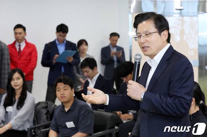 황교안 자유한국당 대표.  © News1 조태형 기자