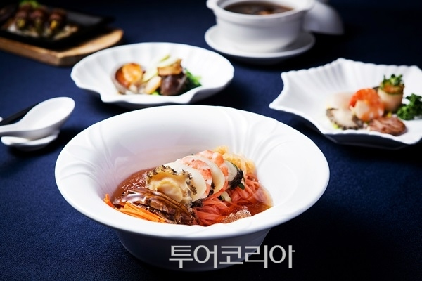 ▲ 그랜드 힐튼 서울, 백년초 여름 냉면