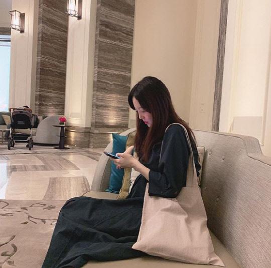 김소영 임신 7개월(사진=김소영 인스타그램 캡처)
