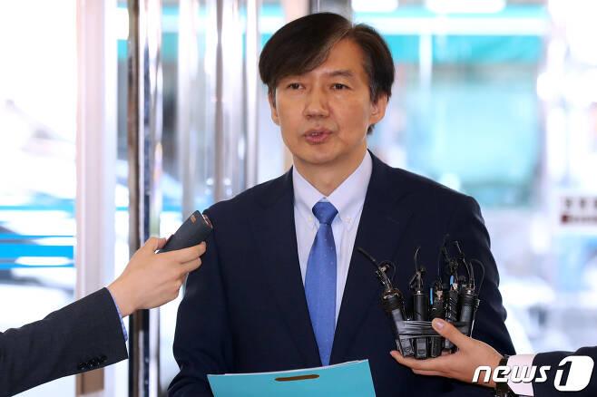 조국 법무부 장관 후보자./뉴스1 © News1 민경석 기자