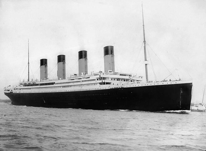 RMS 타이타닉(사진=퍼블릭 도메인)