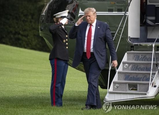 도널드 트럼프 미국 대통령. 연합뉴스