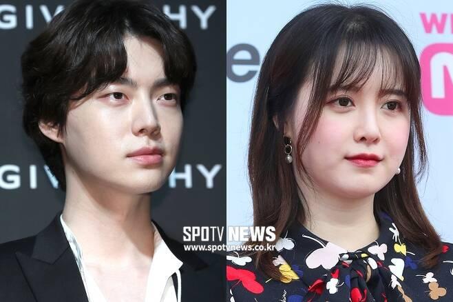 ▲ 배우 안재현(왼)과 구혜선. ⓒ한희재 기자 ⓒ곽혜미 기자