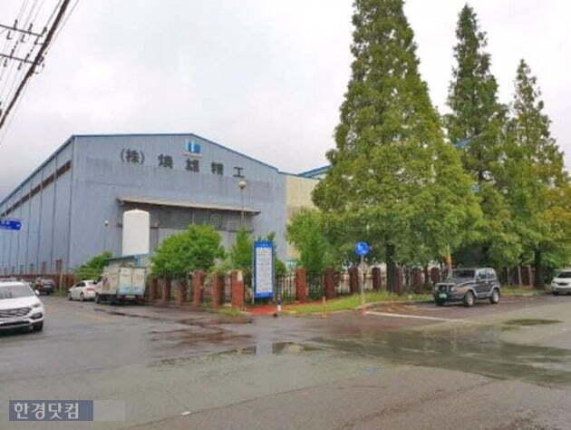190억원에 낙찰된 경남 창원시 의창구 팔용동 소재 공장(자료 지지옥션)