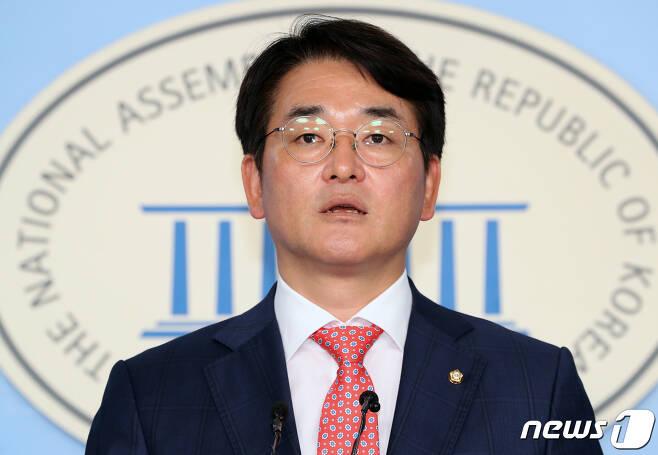 박용진 더불어민주당 의원. © News1 이종덕 기자
