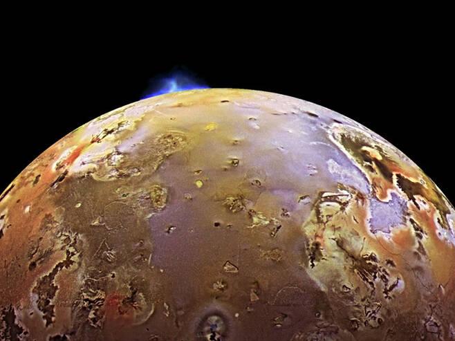 목성의 위성 이오.