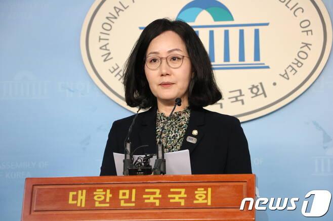 김현아 자유한국당 원내대변인. © 뉴스1