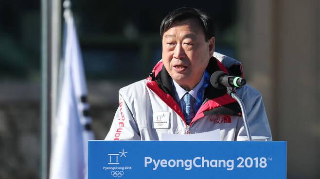 ▲ 이희범 2018 평창 동계올림픽 조직위원장