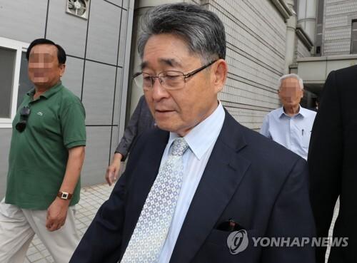 '5·18 북한군 개입설' 지만원 재판 [연합뉴스 자료사진]