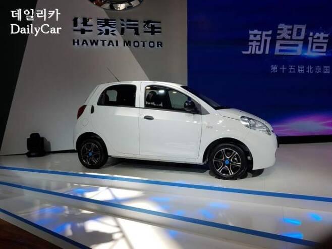 화타이자동차 iEV 360 (@2018 베이징모터쇼)