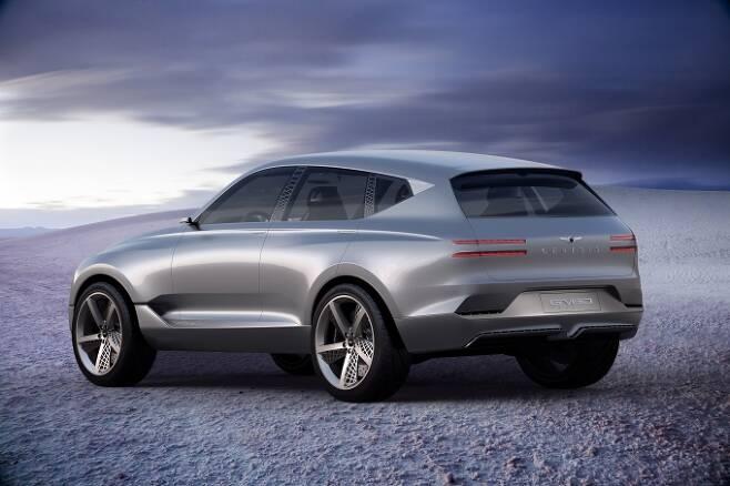 제네시스는 2015년 브랜드 출범 후 처음으로 SUV 모델 GV80을 내놓는다. [사진=현대자동차]