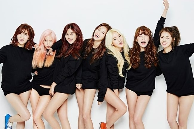 ▲ 데뷔 10주년을 기념해 신곡을 발표하는 그룹 레인보우. 제공| DSP미디어
