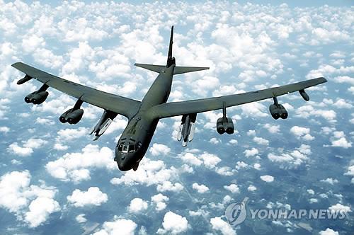 미 공군 전략폭격기 B-52 [미 공군 홈페이지 캡처]