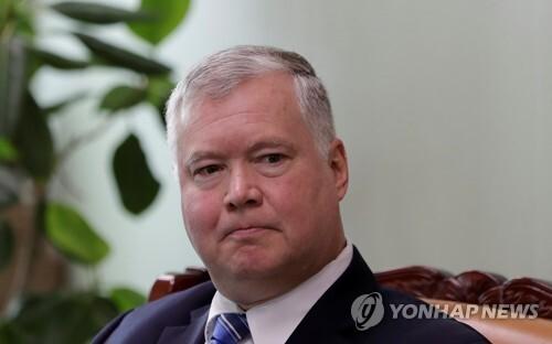 미국 국무부 부장관에 지명된 스티븐 비건 대북특별대표 REUTERS/File Photo