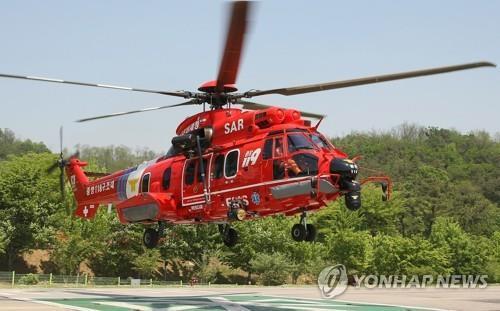 독도 인근 해상서 추락한 헬기 기종 [연합뉴스 자료사진]