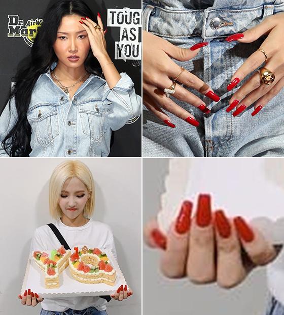 그룹 마마무 화사, 그룹 여자아이들 소연/사진=머니투데이 DB, 여자아이들 인스타그램