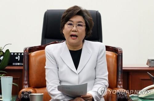 국회 정보위원장인 바른미래당 이혜훈 의원 [연합뉴스 자료사진]