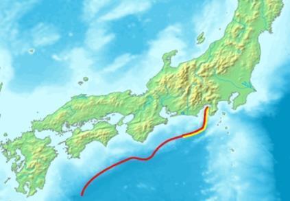 난카이 해곡 [위키피디아 캡처]