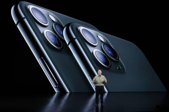 애플은 지난 9월10일(현지시간) 아이폰 11 시리즈를 공개했다. (사진= 로이터)