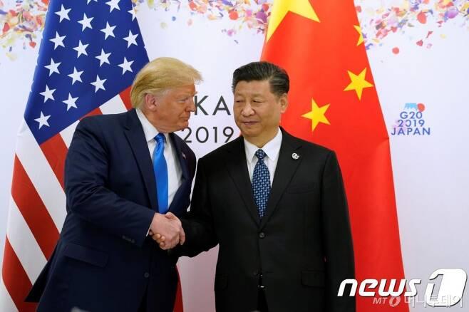 도널드 트럼프 미국 대통령과 시진핑 중국 국가주석