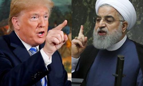 도널드 트럼프 미국 대통령(왼쪽)과 하산 로하니 이란 대통령. 세계일보 자료사진