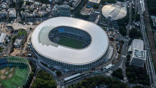 2020도쿄올림픽·패럴림픽 메인스타디움 전경