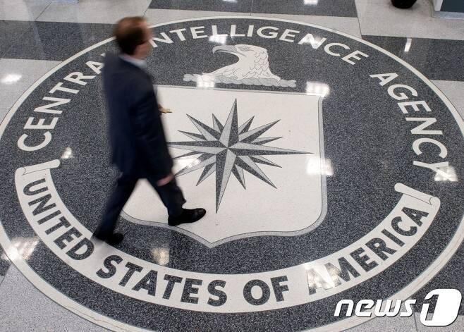 미국 버지니아 주 랭글리의 CIA 본부 로비. © AFP=뉴스1