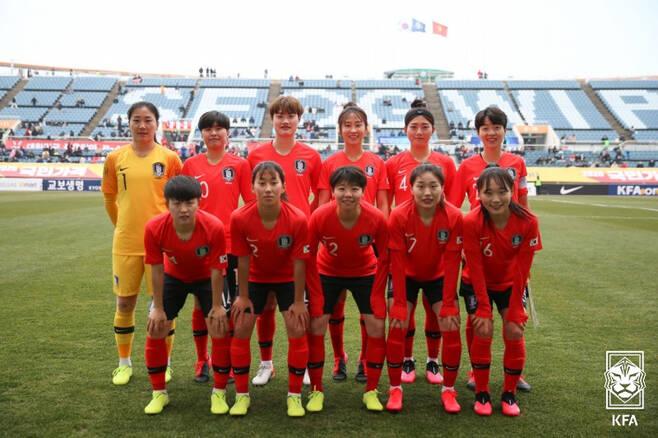 ▲ 여자축구대표팀 ⓒ대한축구협회