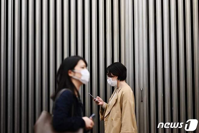일본의 한 거리 © AFP=뉴스1