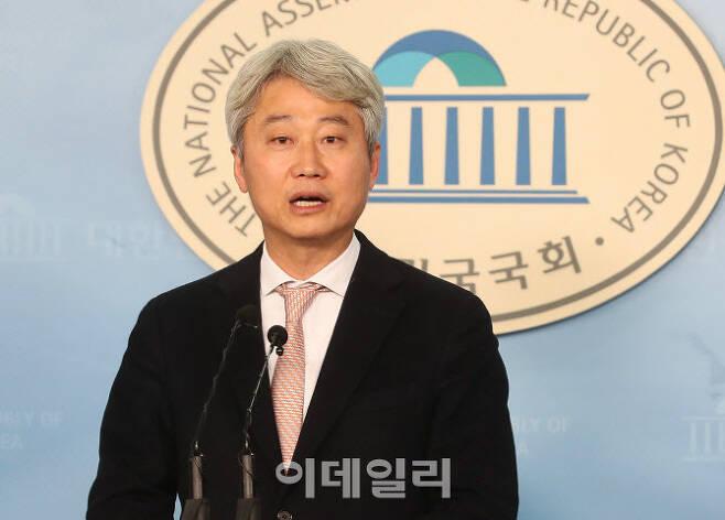 제21대 총선에 출마한 김근식 미래통합당 송파병 후보 (사진=노진환 기자)