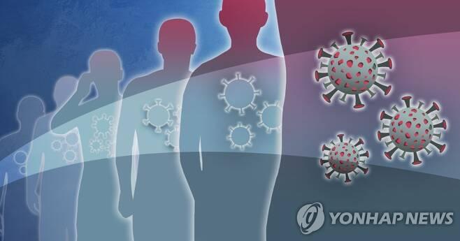 코로나19 바이러스 변이 [권도윤 제작] 일러스트