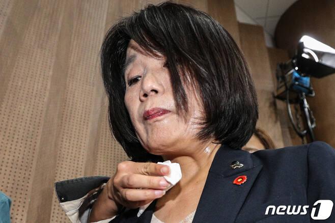 윤미향 더불어민주당 비례대표 국회의원 © News1 성동훈 기자