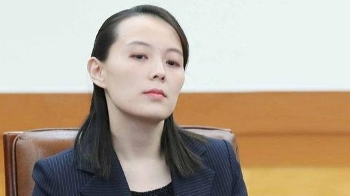 김여정 북한 노동당 제1부부장. 세계일보 자료사진