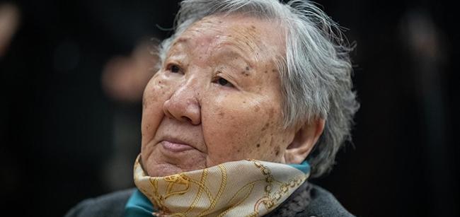 길원옥 할머니. /연합뉴스