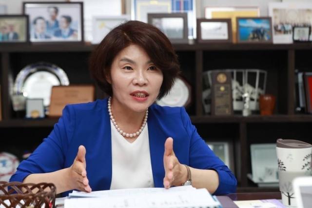 한정애 더불어민주당 일하는국회법추진단장. / 사진=이동훈 기자