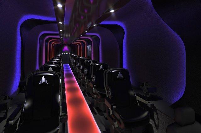 VR 버스 내부 사진