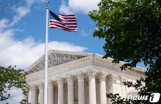 미국 연방대법원.  © AFP=뉴스1