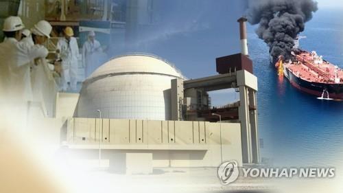 유조선 피격 사건과 중동 긴장 고조(CG) [연합뉴스TV 제공. 재판매 및 DB 금지]