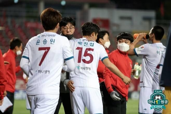 K리그2 무대에서 자신도 새로운 도전에 나서고 있는 황선홍 대전하나시티즌 감독. (한국프로축구연맹 제공) © 뉴스1